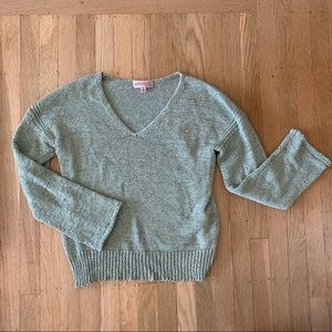 Philosophy light green sweater - Size M